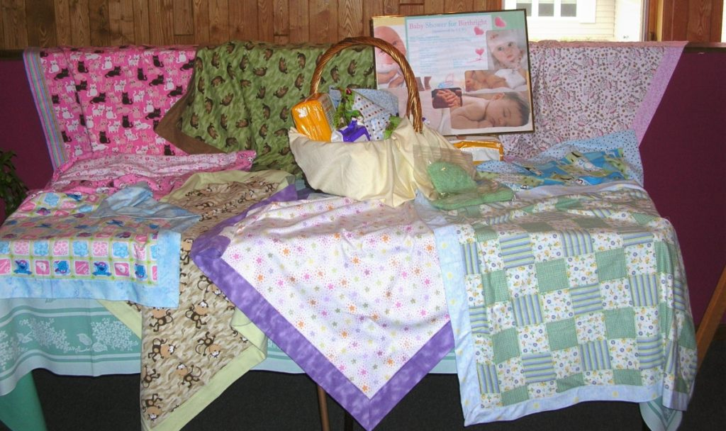 baby quilts for birthright